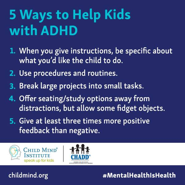 Share these tips on how to help children with #ADHD succeed in school. #MentalHealthIsHealth  #mentalhealth https://t.co/y6bnqM3iSc
