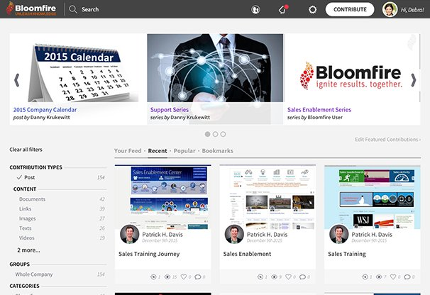 Bloomfire Secures $12.8M in #SeriesBFunding to Fuel Growth in #KnowledgeSharing #SaaS Market https://t.co/fa7tfN4jt1 https://t.co/mKlZgOOriy