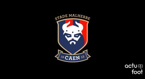 Officiel ! Le Stade Malherbe De Caen Présente Son Nouveau Logo !