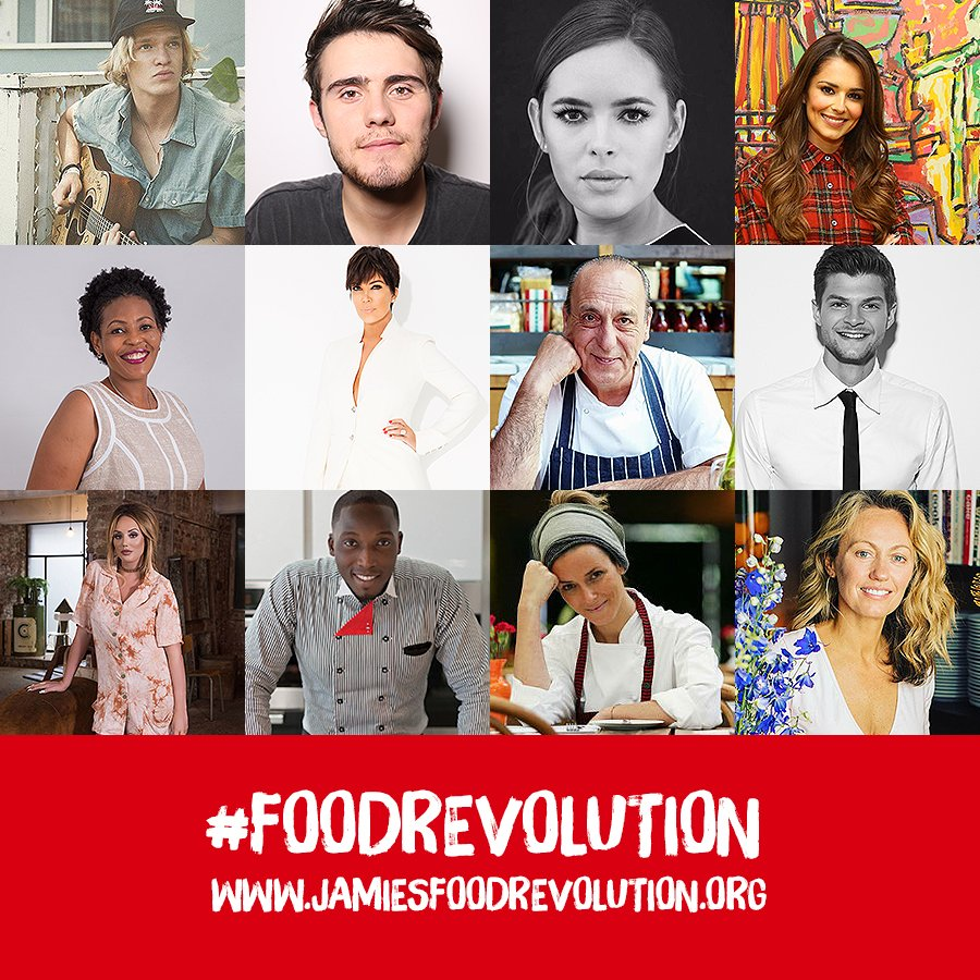 Excited to have a loads of amazing people joining me for a global @facebook LIVE tomorrow for #FoodRevolution Day https://t.co/D69UJTaXTH