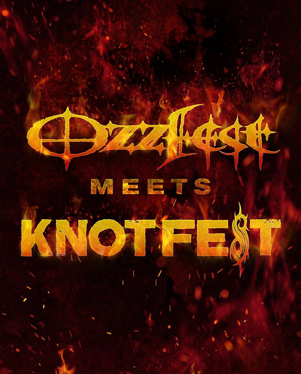 .@TheOzzfest Meets @KNOTFEST tix & VIP packages will be on sale tomorrow, 5/20 at 10AM PT https://t.co/AlckVKfqJJ https://t.co/05XQep6qPW