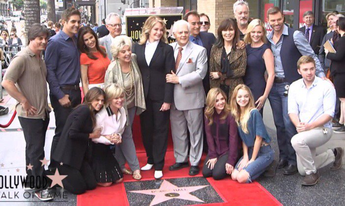 A sincere congratulations to @DeidreHall .  Your star is well earned and deserved.  #days @nbcdays https://t.co/bEnkA7oU9I