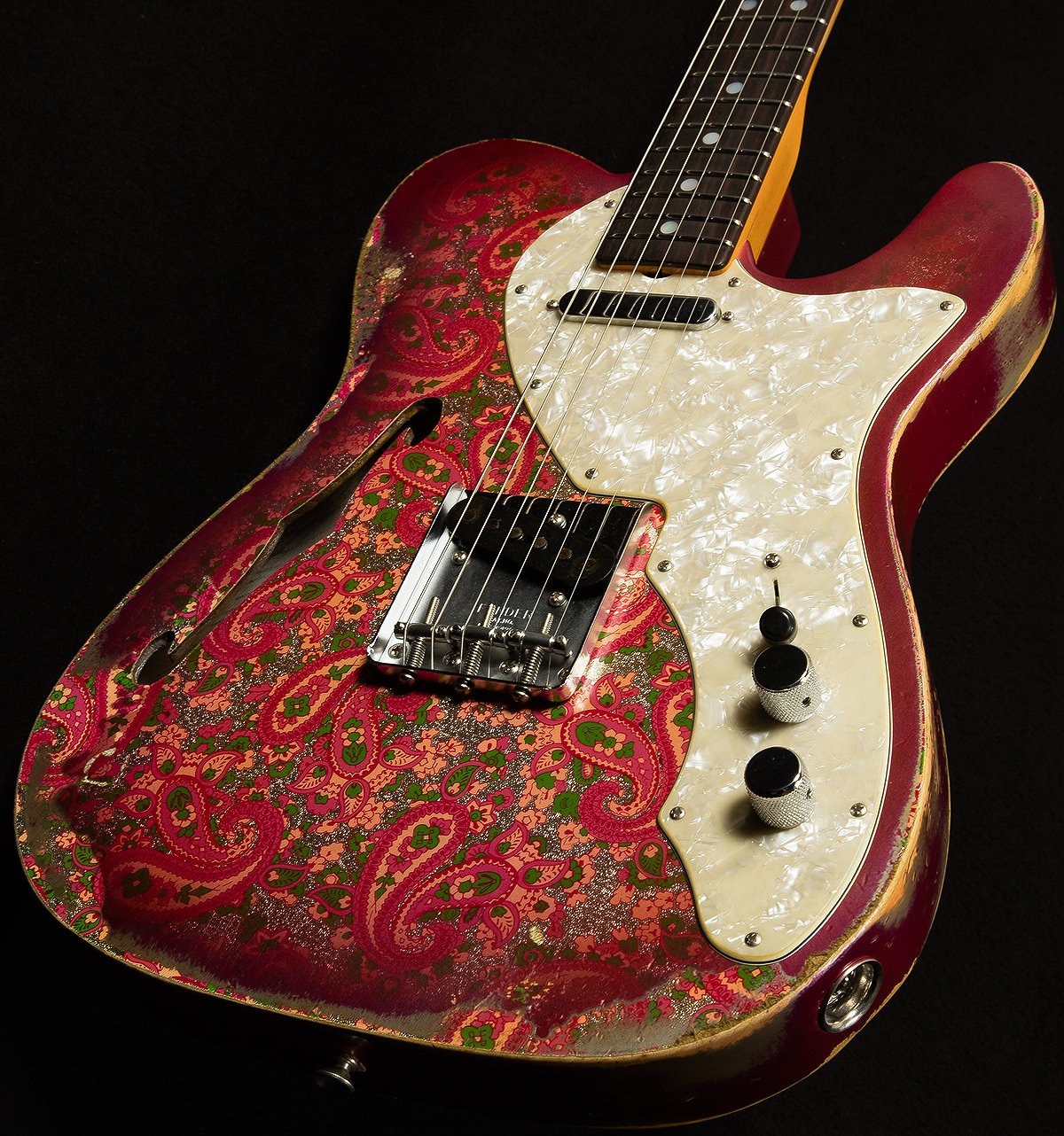 Welcome to the latest Wildwood 10 model! 1969 Telecaster Thinline finished off with hand wound Twisted Tele pickups! https://t.co/2z7EhBQth2