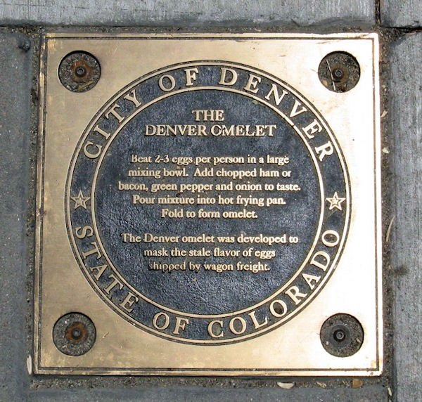 MT @NewsCPR: Yep. We have a historical marker for an omelet. History of the Denver omelet coming soon @cprnews https://t.co/KS35Y65GOP