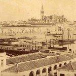 Desde el barrio de Triana #Sevilla 1855 https://t.co/E7vrbLK3rQ
