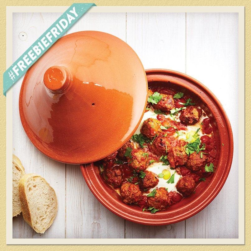 #FreebieFriday ! Anyone else fancy a Mediterranean weekend, we are giving away three beautiful tagines! RT to enter https://t.co/zQOarfijWB