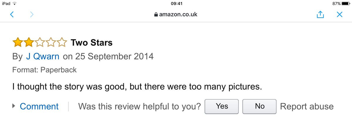 Great review for Fatale on Amazon... https://t.co/GTHEUdsMYQ