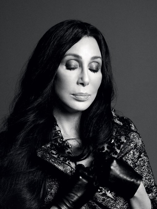 Happy Birthday Cher! |Photo by David Sims for