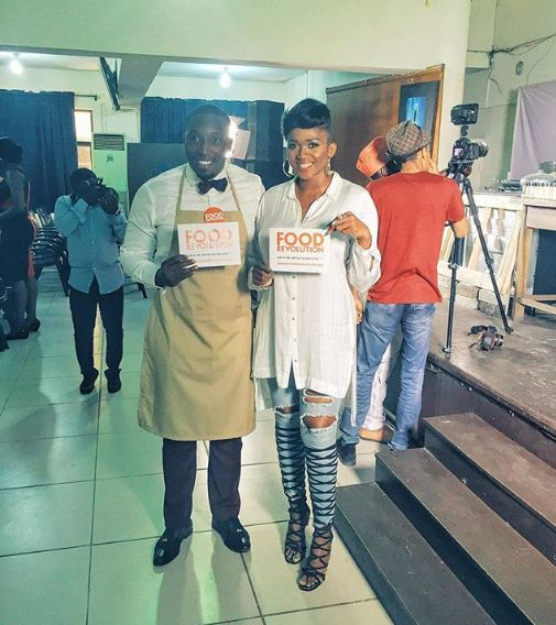RT @OfficialWaje: I am live with @iamcookiejar on Facebook now, Join me, #FoodRevolution https://t.co/8DkZPewMl9