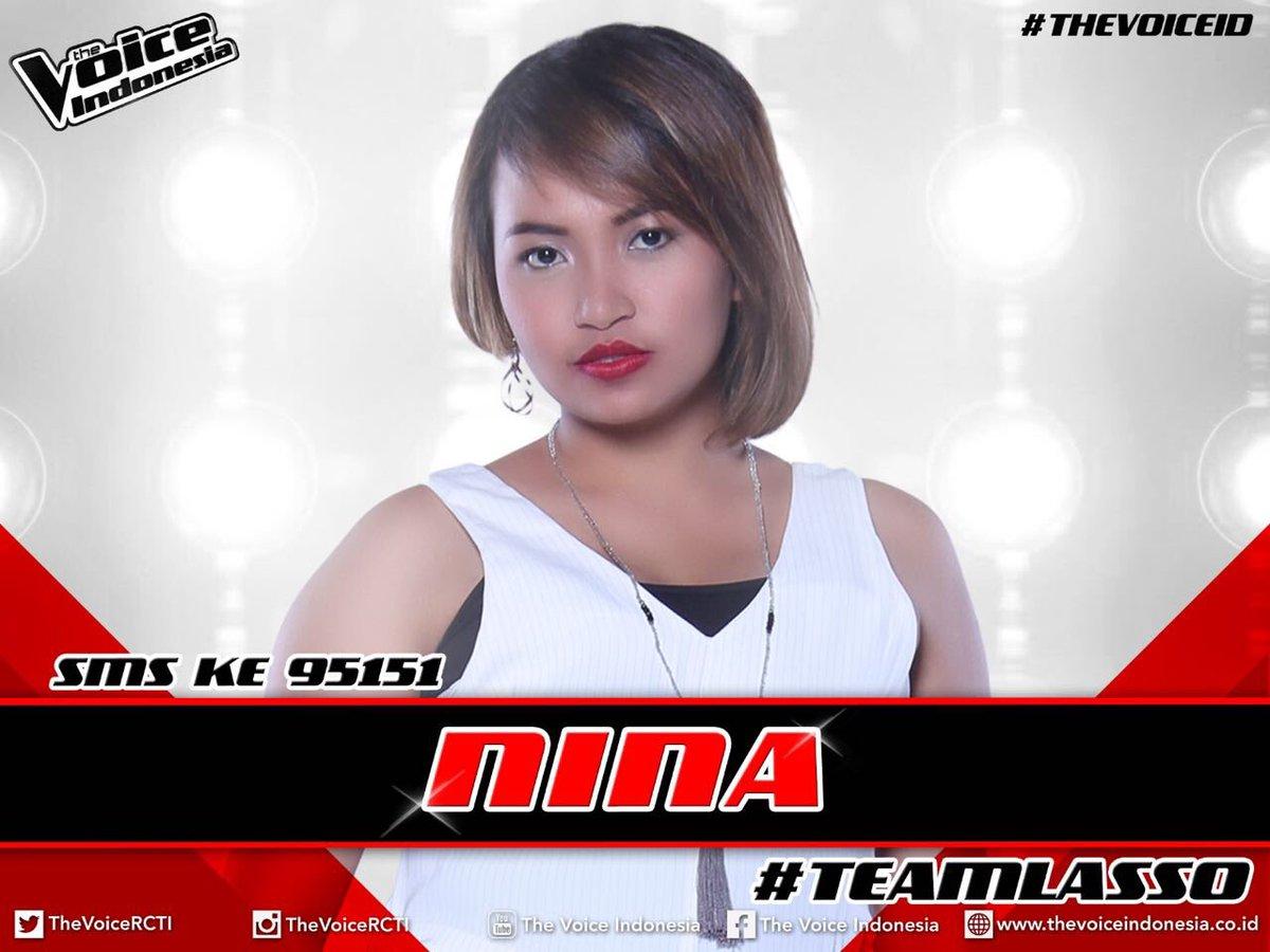 !!! RT @TheVoiceRCTI: VOTE Nina,sms ketik NINA kirim ke 95151