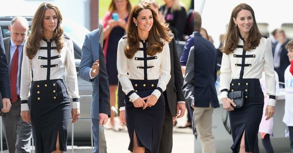Kate Middleton recycles this nautical outfit 3 times: