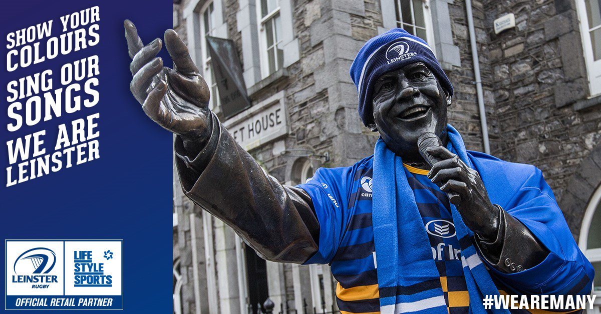 Make sure you're heard for the big game tonight. C'mon Leinster #WeAreMany #LEINvULS https://t.co/O7eZh1wWvf