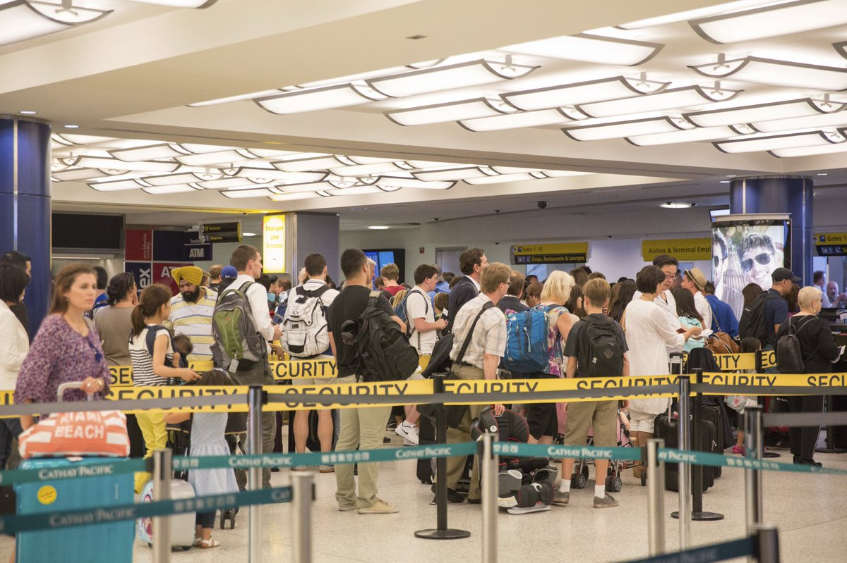 Congress called to immediately address security lines by @AirlinesDotOrg