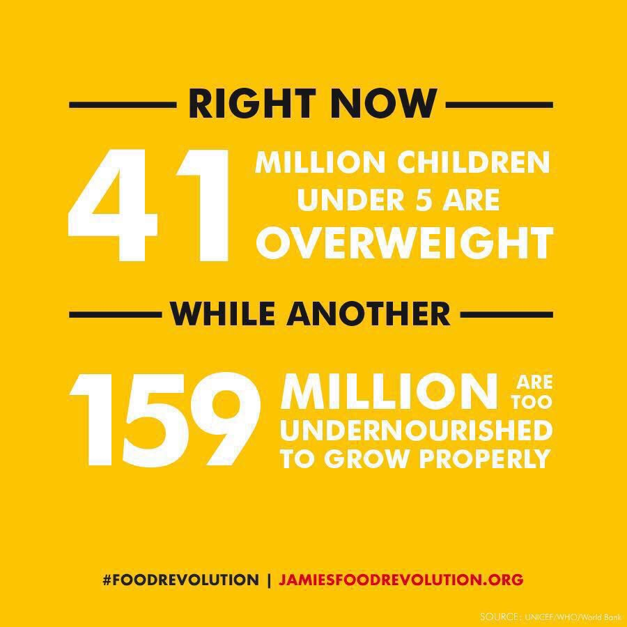 RT @TheShilpaShetty: What a good thought .. I've signed up and joined The #FoodRevolution https://t.co/nbVymbYZmn @jamieoliver https://t.co…