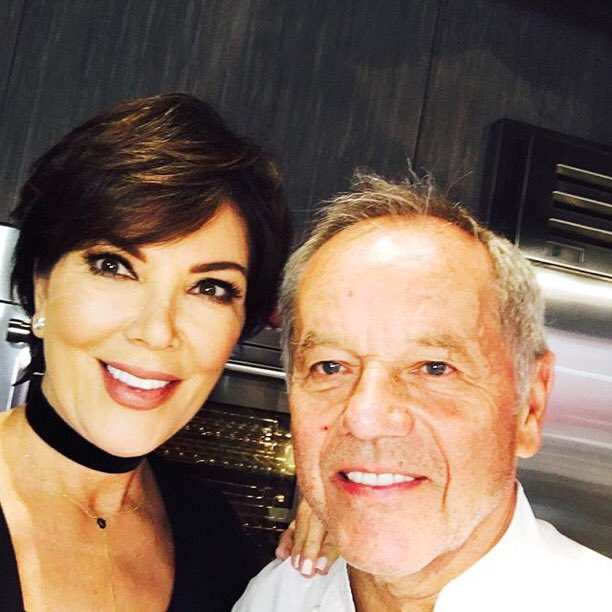 RT @KrisJenner: Getting ready to live stream on my Facebook with @wolfgangpuck and @codysimpson 8:30AM PST #FoodRevolution https://t.co/2Kd…