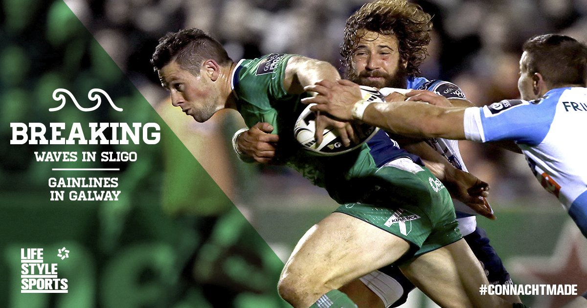 Wishing @ConnachtRugby & the @ConnachtClan the very best of luck today at the sportsground. #CONvGLA #Pro12Rugby https://t.co/tDq8hNJb11