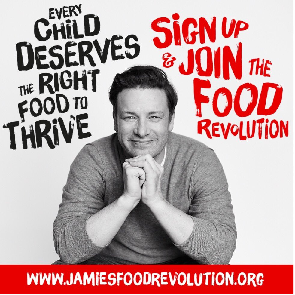 RT @thebodycoach: I've signed up and joined the #FoodRevolution ????  Join here https://t.co/zufWEDuJYF @JamieOliver ????❤️???????? https://t.co/vfGmro…
