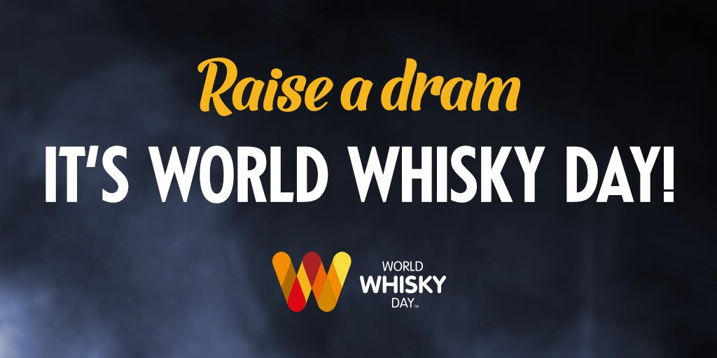 Happy #WorldWhiskyDay everyone! Slainte! https://t.co/5aLPzGuH3i