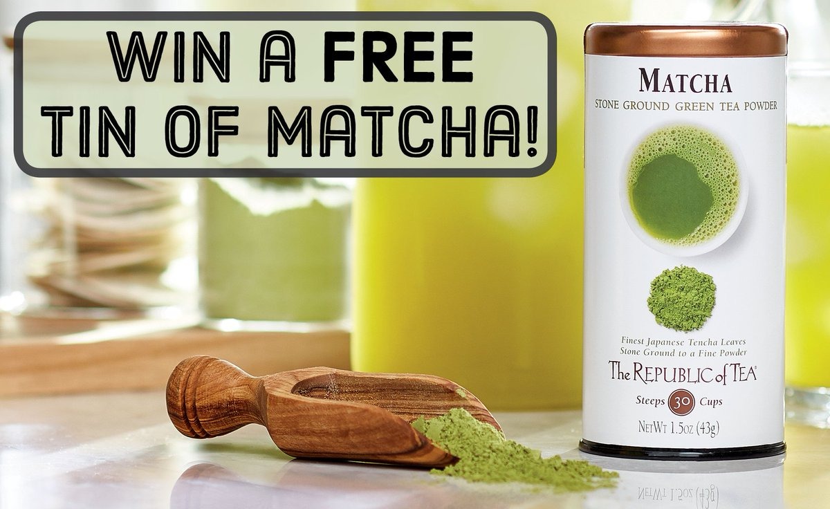 #CONTEST! Follow @republicoftea & RT this tweet to win #matcha! We will pick 3 winners https://t.co/q5LVf0Tzwv https://t.co/UXsRzuPLem