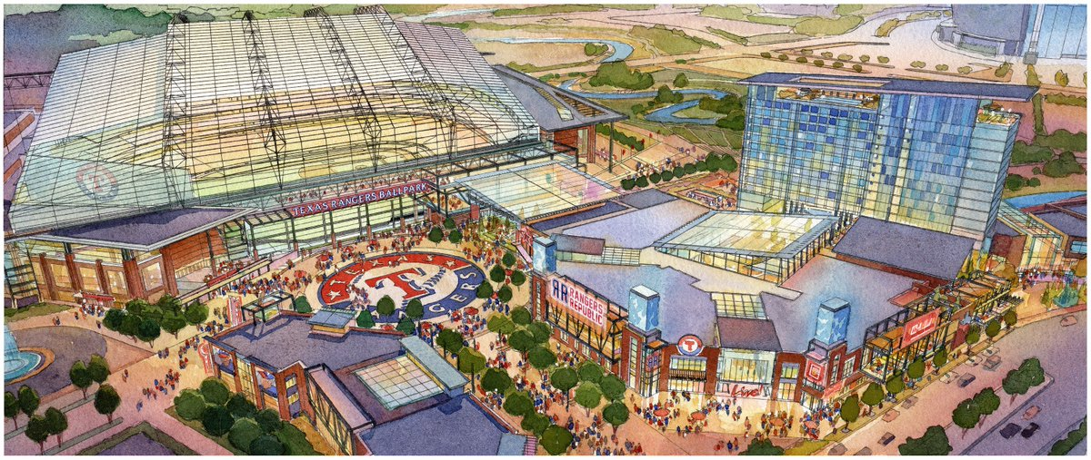City of #ArlingtonTX Considers Public-Private Partnership with @Rangers for New Ballpark: https://t.co/bJKP206kE4 https://t.co/PispXBxqBF
