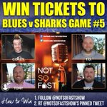 Win tickets to #STLBlues v Sharks Game 5. How? Follow https://t.co/GvCj69jBBQ at @NotSoFastShow & RT this Tweet #LGB https://t.co/YV8igcv9rF