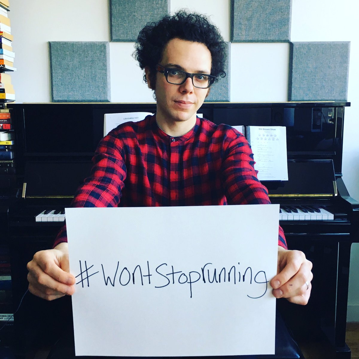 .@itsmechadking is the strongest and most positive and inspiring person I know. This is for you #wontstoprunning https://t.co/efnlUmPLl4