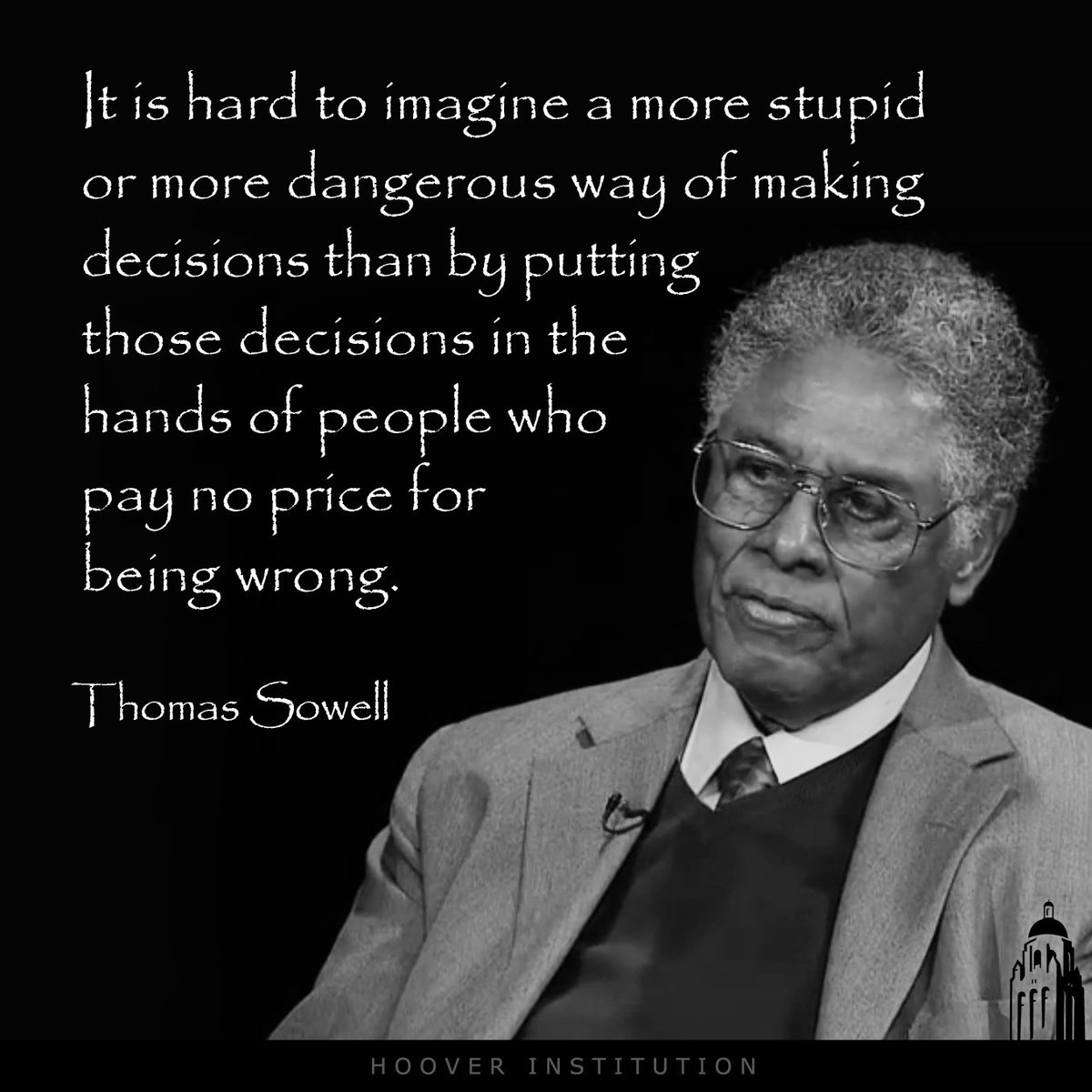 """It is hard to imagine a more stupid or more dangerous way of making decisions..."" https://t.co/HKcuqlxoIr"