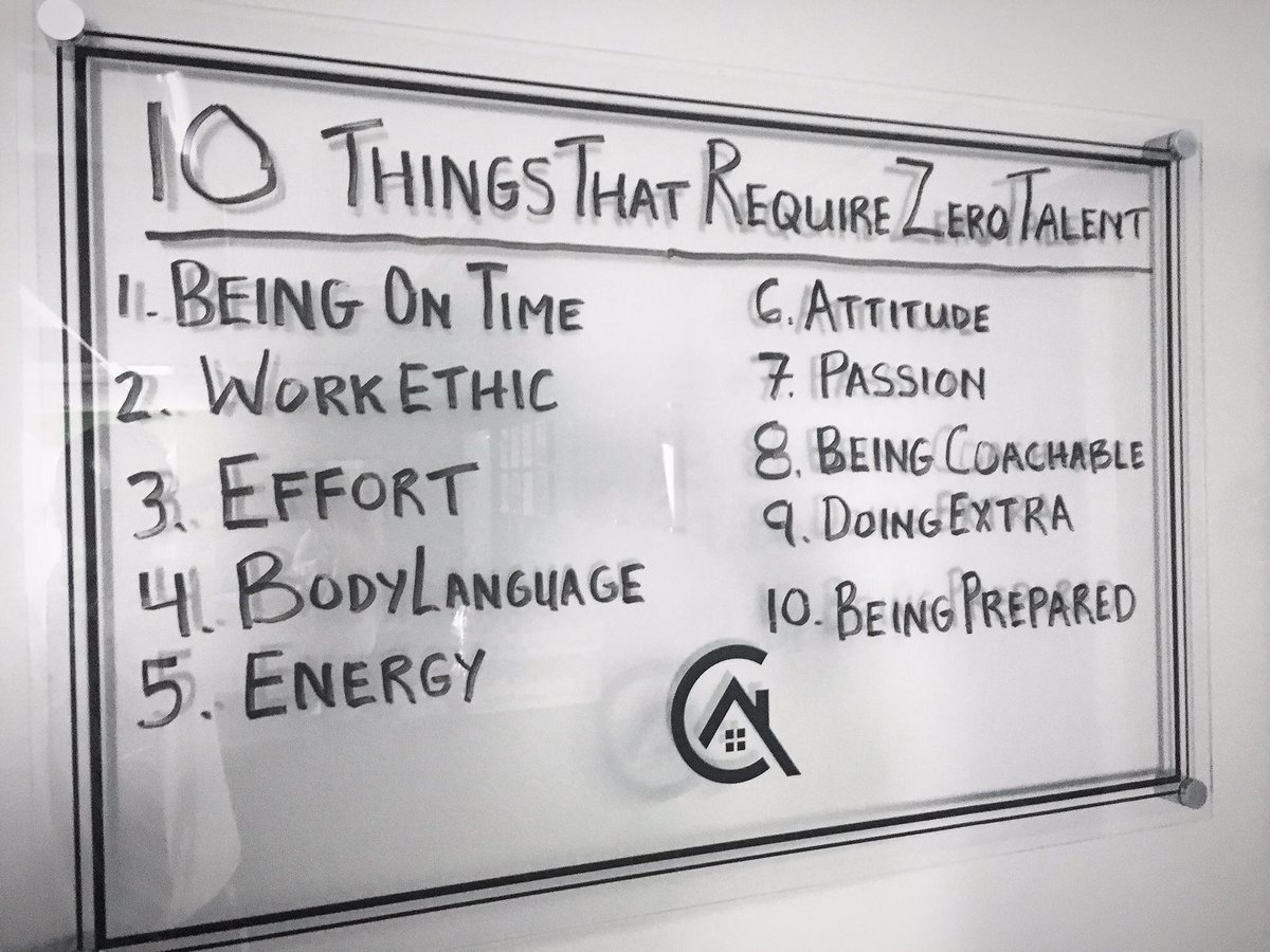 10 things that require ZERO talent..... https://t.co/CMll4amAPY