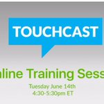 RT @ayeletsegal: Join @TouchCastEdu free webinar Training June 14th 4:30-5:30pmEST  Sign up: https://t.co/xcPhvmtq8S https://t.co/xMuBVT2yAz