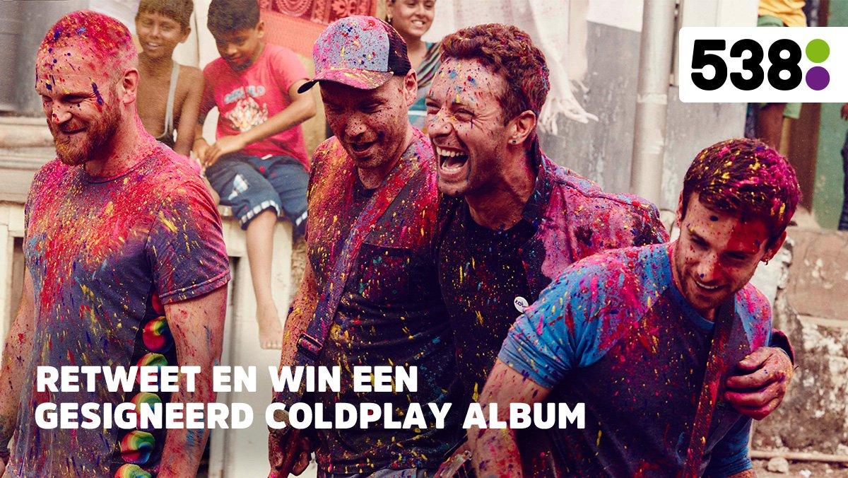 Win 1 v/d 5 gesigneerde exemplaren van Coldplay's A Head Full of Dreams! Retweet om kans te maken! https://t.co/rvl07jFhDb