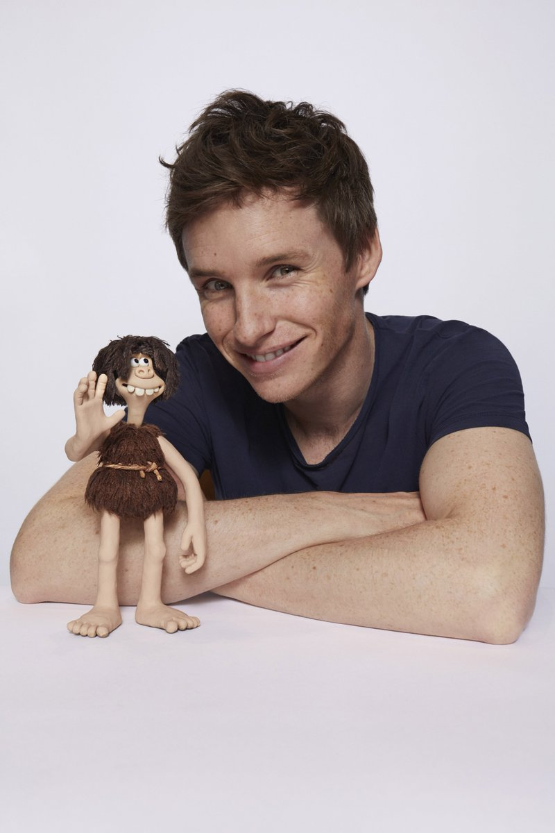 Excited to be working with Eddie Redmayne on Nick Park's prehistoric comedy adventure #EarlyMan. In cinemas 2018! https://t.co/39yXWaHd5o