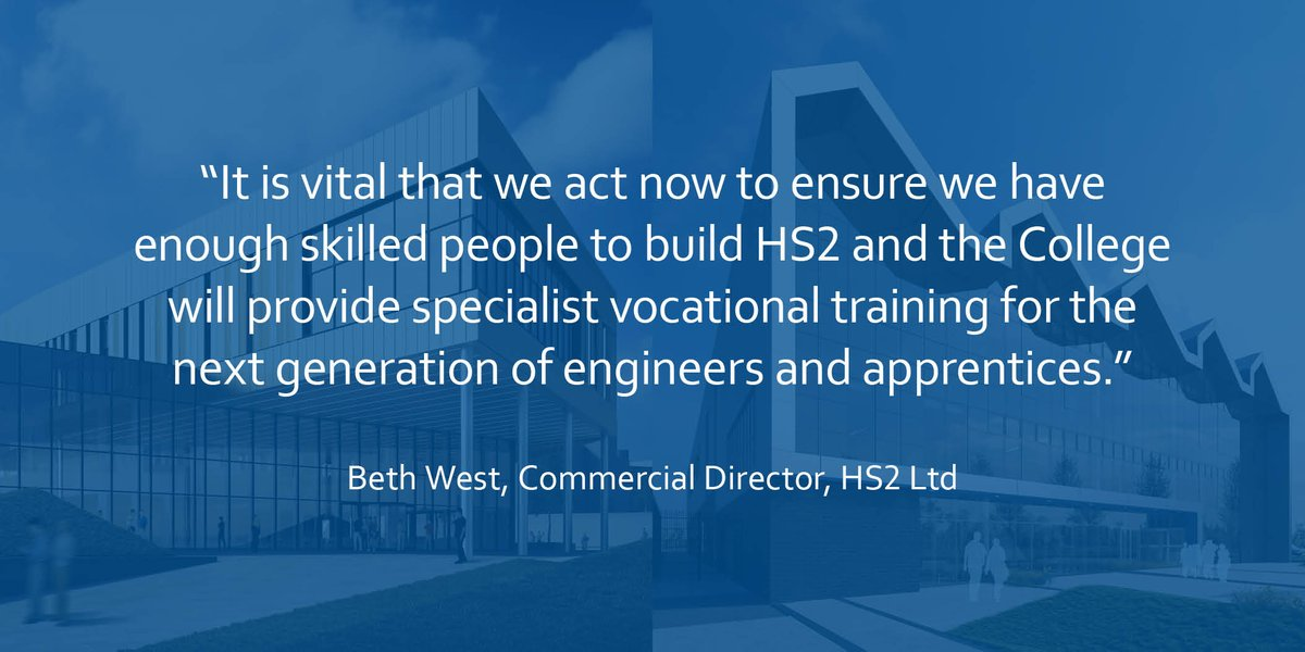 #HS2's Beth West has been talking about the National College of High Speed Rail & what it means for HS2 https://t.co/D9eehXt2cx