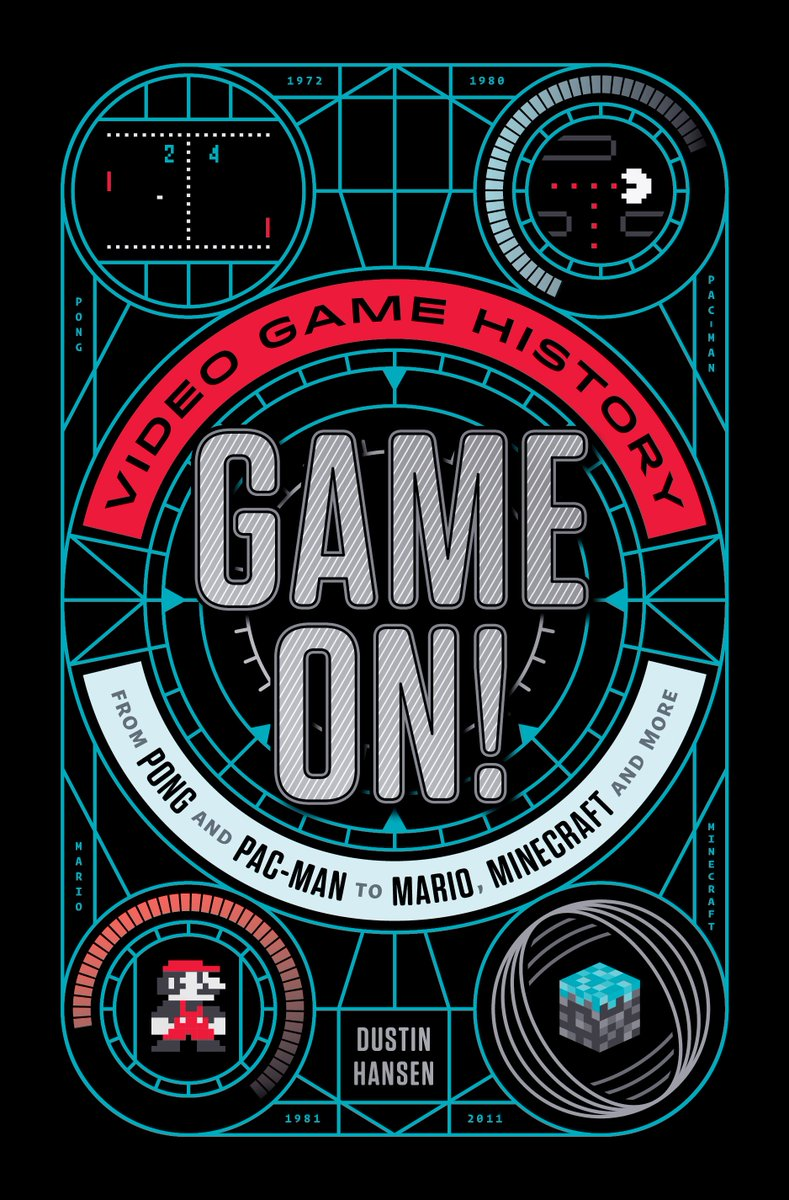 GAME ON! Cover Reveal! The team at @FeiwelFriends knocked this out of the park! I LOVE EVERY PIXEL! @MacKidsBooks https://t.co/uf0yH3o18P