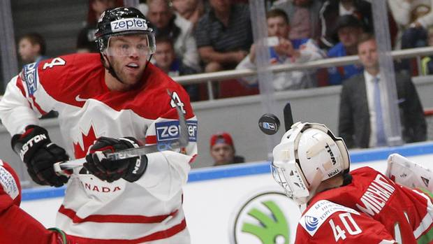 Canada routs Belarus 8-0 at world hockey championship From @Globe_Sports