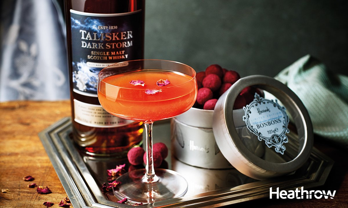 Give in to your sweet tooth with these @Harrods bon bons and Talisker Dark Storm