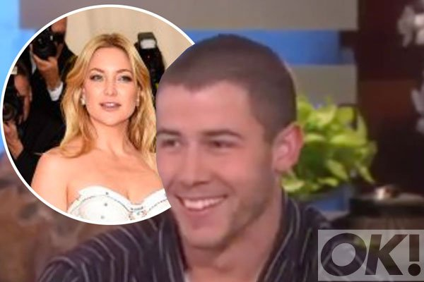 Watch @nickjonas get quizzed about Kate Hudson on @TheEllenShow: