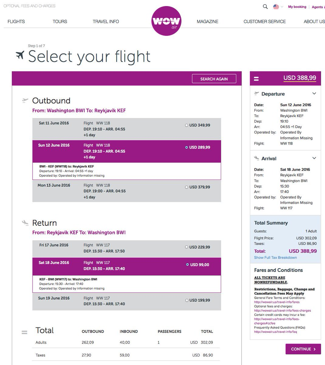 RT @airfarewatchdog: Baltimore BWI to Reykjavik KEF Iceland $389 nonstop on @wow_air for June travel. airfare ht…