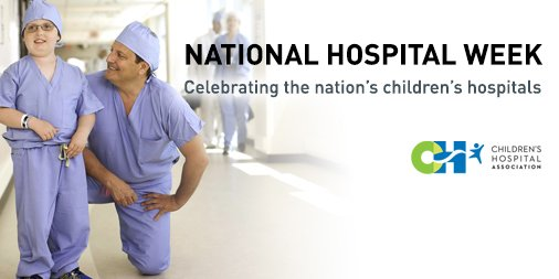 Happy #HospitalWeek! This week we thank the nation's children's hospitals for the compassionate care they provide. https://t.co/IKb7uZ7us9