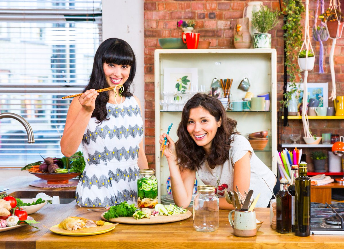 RT @HemsleyHemsley: We're on TV! #EatingWell With Hemsley + Hemsley is on @Channel4 at 8pm tonight...Who's going to be cooking with us? htt…