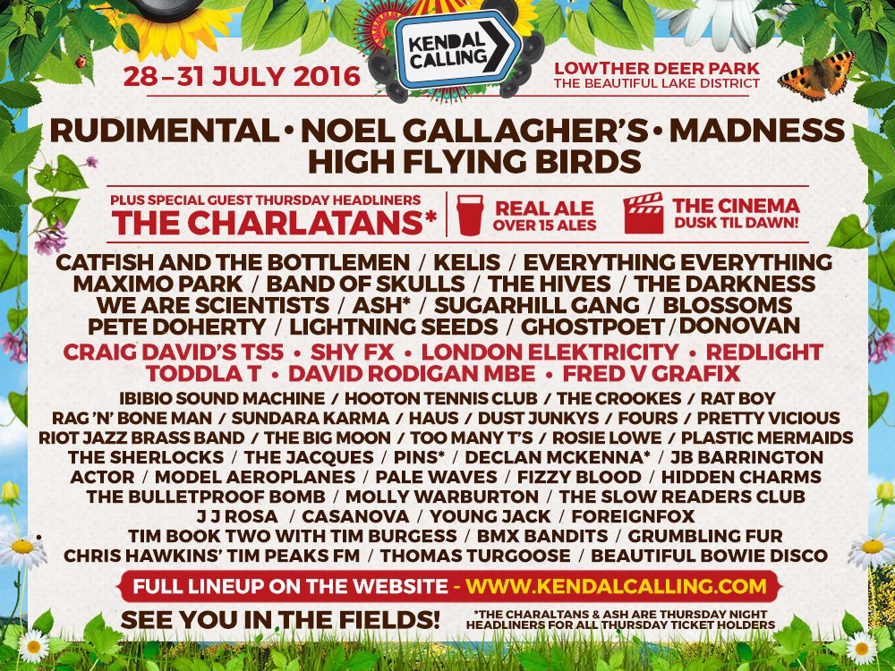 We're selling tickets for @KendalCalling Like and share this post for a chance to win 2 free weekend tickets. https://t.co/vxuzQsp9i6