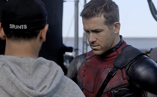 "Exclusive: Deadpool director says Ryan Reynolds ""was born to play"" the Merc with the Mouth:"