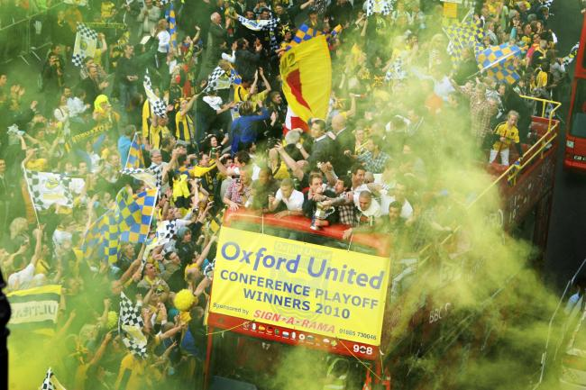 Oxford United open-top bus parade announced for tomorrow to continue promotion party https://t.co/15O0YsQJAL https://t.co/ppYQ7a9Y3W