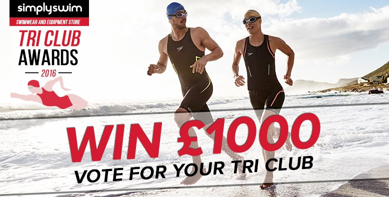 Vote now for your Tri Club to win £1000! Cast your vote > https://t.co/g1GvZHSbC4 https://t.co/zldV5NTU56