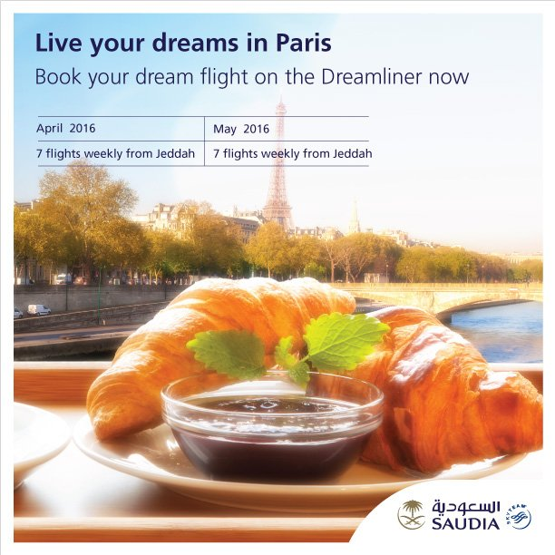 Book your dream flight to Paris on the