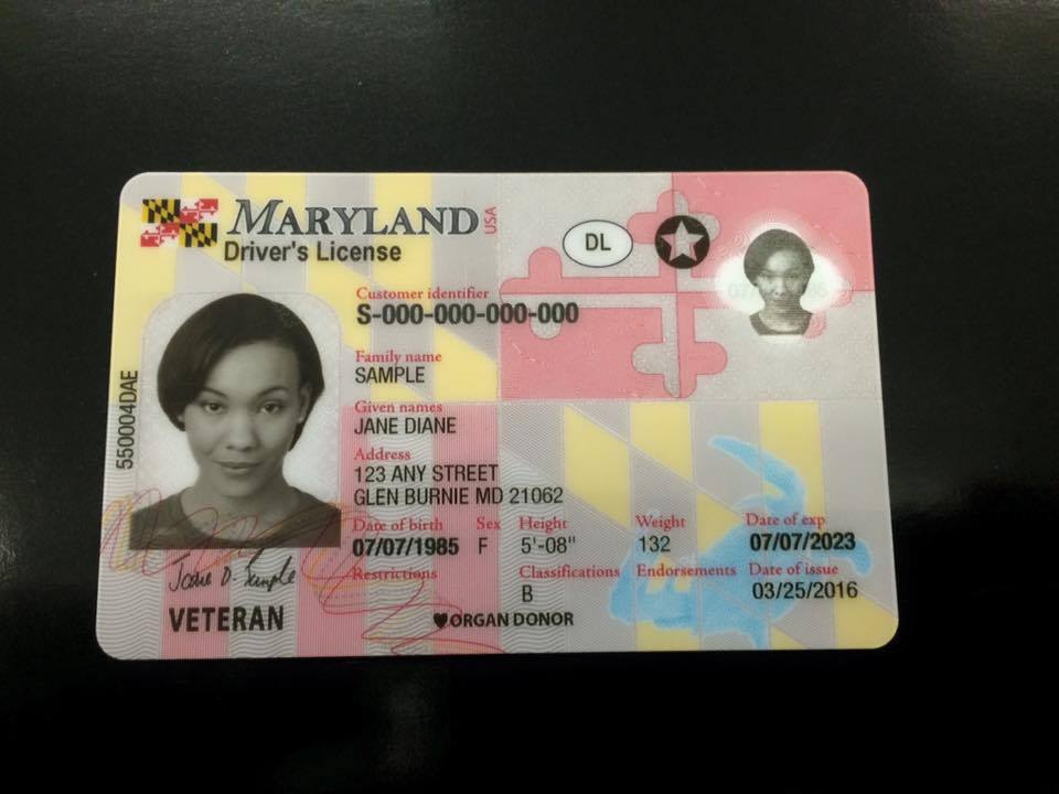 Maryland will roll out new drivers licenses in June.  Click the link to take a look... https://t.co/oMKSSkUVI4