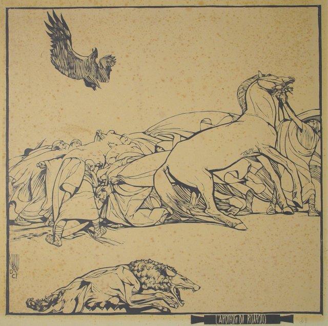 10.5.1876 Nasceva 140 anni fa Duilio Cambellotti  incisore pittore scenografo scultore e molto altro #BiennaleArte https://t.co/dSMgBEmEqv