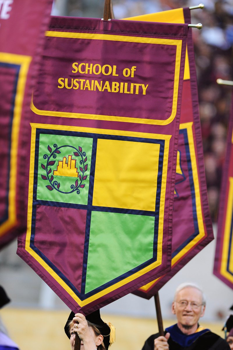 The next wave of #sustainability leaders enters the world today – congrats Spring 2016 grads! #ASUgrad #SOSTurns10 https://t.co/y6Qgmq2khf
