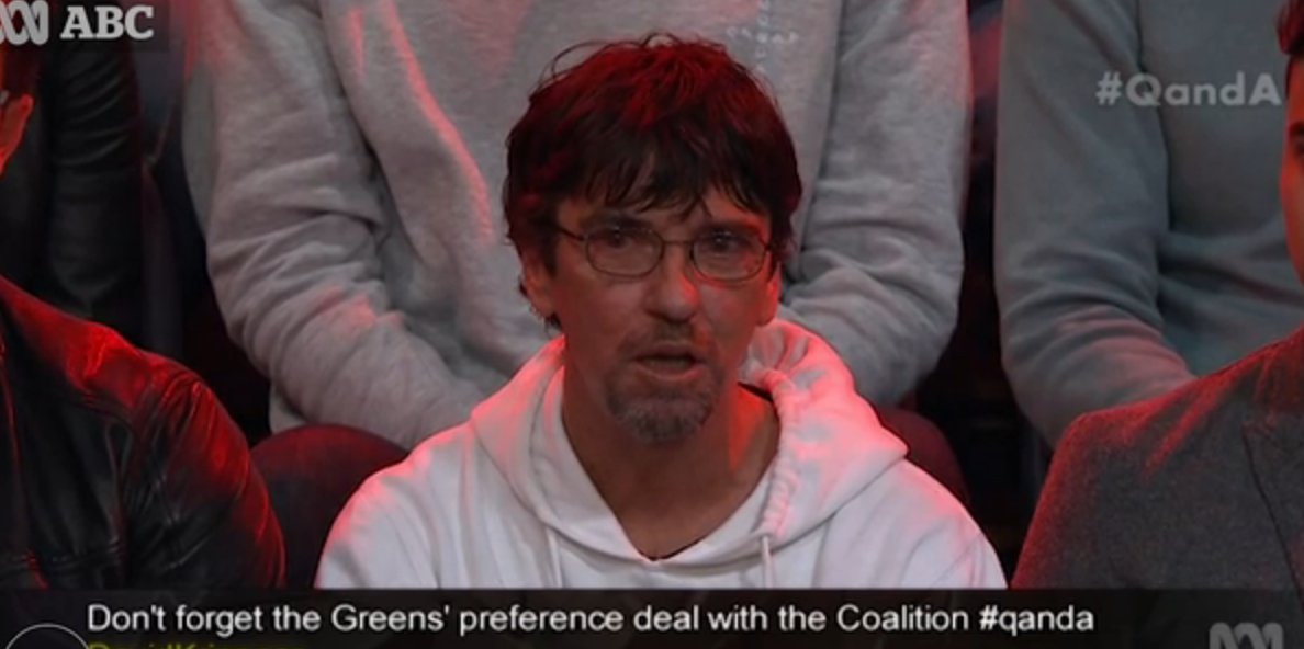 On live TV #QandA threw up a classic campaign boobytrap: a real voter. My wrap of last night https://t.co/ztr7IUeat7 https://t.co/dtZpLLPuhh