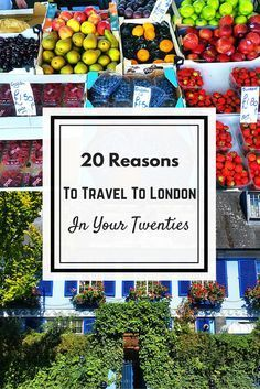 LONDON CALLING! If you are in your twenties London is the perrrrrfect travel destination for you! Why? Well here's … https://t.co/PyBgUQ4o10