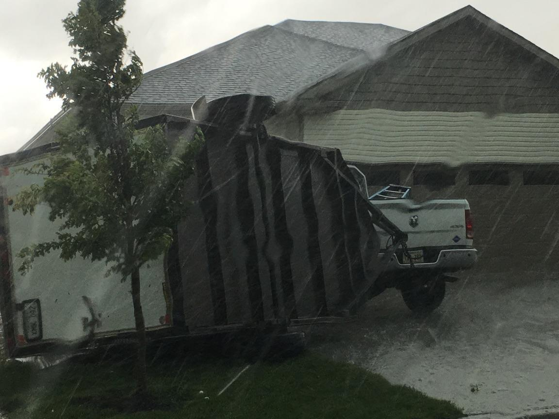 Photo Structural Damage In Lincoln Neb After Tornado